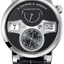 A. Lange & Söhne Zeitwerk Black Dial 18K White Gold 140.029