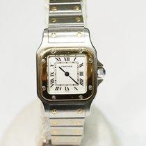 Cartier Santos (submodel) occasion Or/Acier
