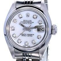 Rolex Oyster Perpetual Lady Date Staal 26mm Parelmoer Geen cijfers Nederland, Katwijk aan zee