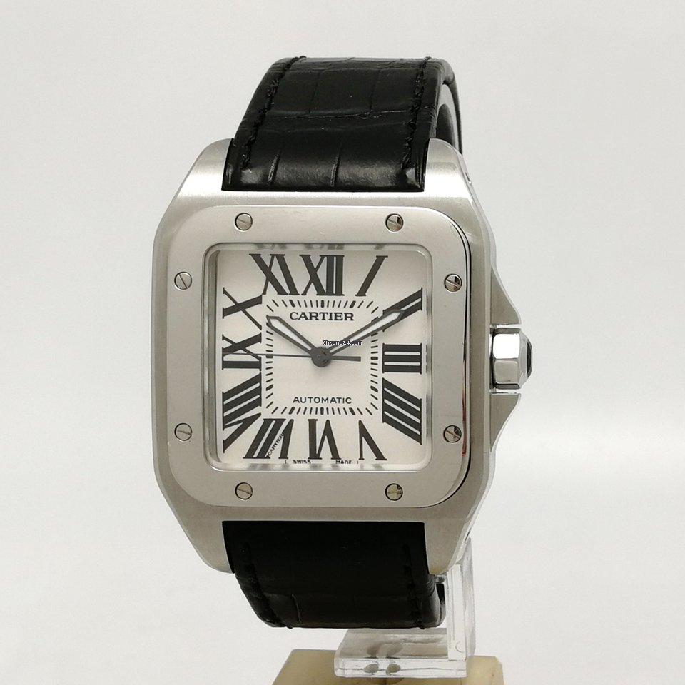 18b8870c89984 Cartier Santos 100 - Tutti i prezzi di Cartier Santos 100 su Chrono24