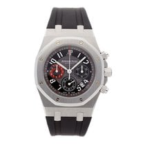 Audemars Piguet Steel Automatic Grey Arabic numerals 40mm pre-owned Royal Oak Chronograph