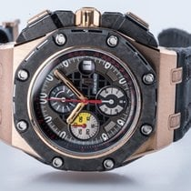 Audemars Piguet Royal Oak Offshore Grand Prix Roségoud 44mm Zwart Geen cijfers