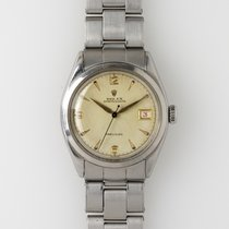 Rolex Oyster Precision Steel 34mm Champagne United States of America, Illinois, Chicago