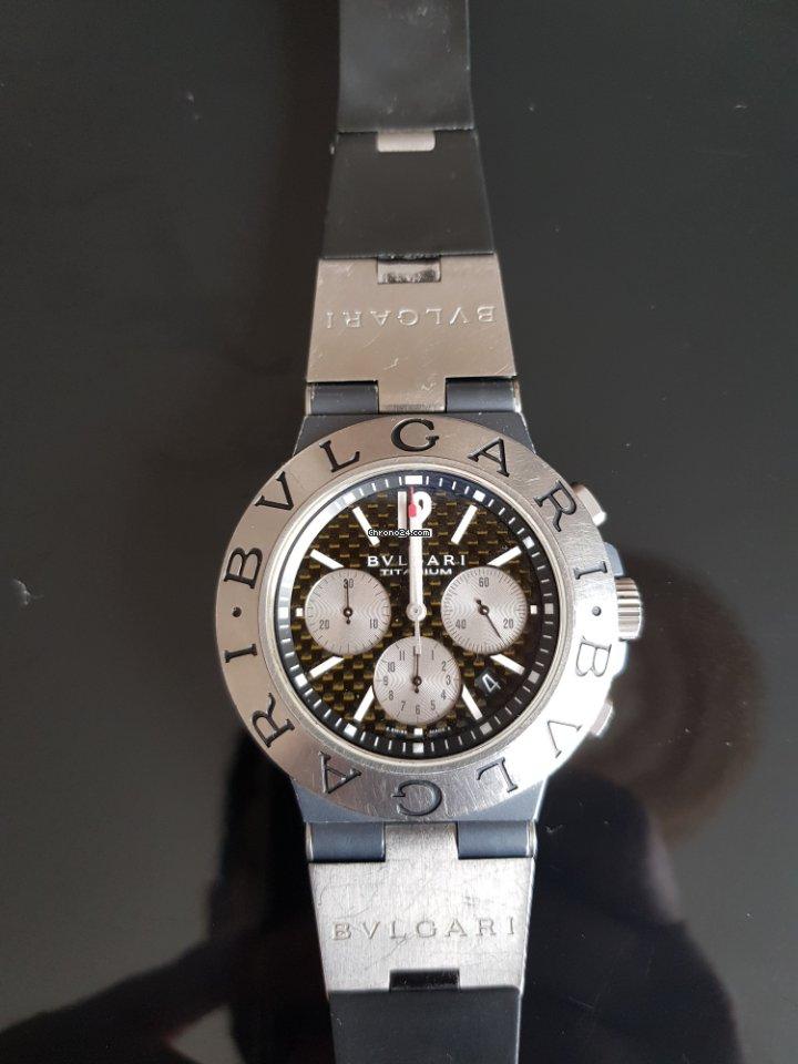 e2895fade1ba Bulgari Titanium Diagono TI 44 TA CH