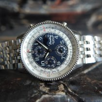 Breitling Montbrillant Olympus Steel 42mm Arabic numerals United Kingdom, Whitby- North Yorkshire