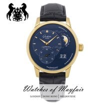 Glashütte Original Red gold Automatic Blue 40mm new PanoMaticLunar