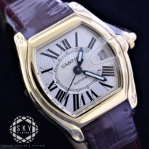 Cartier new Automatic 37mm Yellow gold Sapphire Glass
