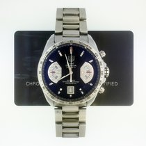 TAG Heuer Grand Carrera Steel 43mm Black No numerals United States of America, New York, New York