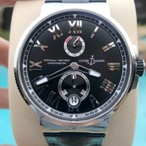 Ulysse Nardin Marine Chronometer Manufacture Steel 45mm Black United States of America, Texas, Plano