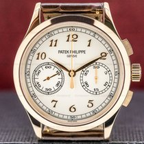 Patek Philippe Rose gold Manual winding Arabic numerals 39mm pre-owned Chronograph