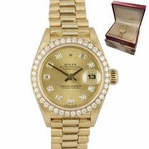 Rolex Lady-Datejust 26mm Oro Romanos