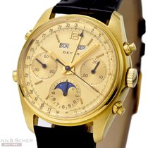 Urwerk Beyer Vintage Chronograph Calendar Moon 18k Yellow Gold...