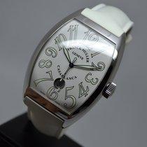 Franck Muller Casablanca XL Steel Date 8880 White  Full Set EU