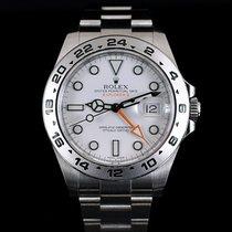 Rolex Explorer II 42MM Orange Wh Dial Mint Condition