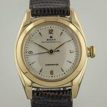 Rolex Oyster BubbleBack, 3131, Mens, 14K Gold, Vintage, Cream...