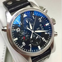 IWC Pilot Double Chronograph Box&Papers 2014