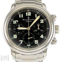 Blancpain Uhr Leman Flyback Chronograph Automatik Edelstahl...