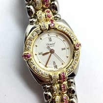 Chopard Gstaad 18k Yellow Gold & Steel Ladies Watch W/...