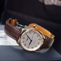 Longines Rose gold Automatic Silver Arabic numerals 38,5mm new Master Collection