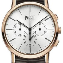 Piaget Rose gold Manual winding Silver 41mm new Altiplano