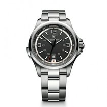 Victorinox Swiss Army new Quartz 42mm Steel Sapphire Glass