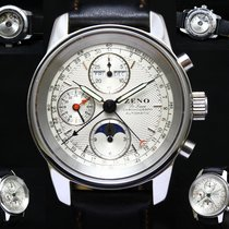 Zeno-Watch Basel De Luxe Chronograph Full Calendar Moonphase -...