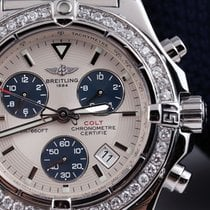 Breitling Colt Chronograph Steel 41mm Silver No numerals United States of America, New York, New York