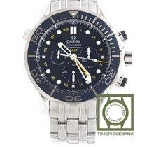 Omega Seamaster Diver 300 M Acier 44mm Bleu Arabes
