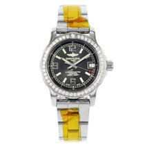 Breitling Colt Quartz Steel 33mm Black Arabic numerals United States of America, New York, NYC