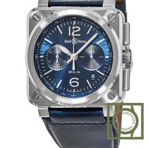 Bell & Ross Aviation Blue Dial Automatic