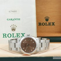 Rolex Oyster Perpetual Medium Saphirglas Bronze 31mm Fullset...