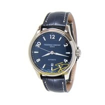 Frederique Constant Runabout Automatic Steel 42mm Blue Arabic numerals