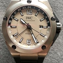 IWC Ingenieur Dual Time Titan 45mm Grå Arabiska