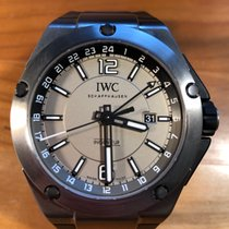 IWC Ingenieur Dual Time Titan 45mm Šedá Arabské