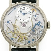 Breguet Or blanc 38mm Remontage manuel 7027 occasion