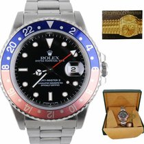 Rolex 16710 Steel GMT-Master II 40mm pre-owned United States of America, New York, Smithtown