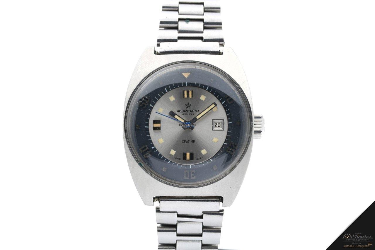 f00fc1bcabfd Relojes Aquastar - Precios de todos los relojes Aquastar en Chrono24