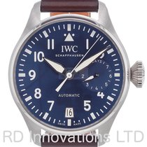 IWC Big Pilot Steel Blue Arabic numerals