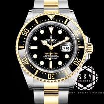 Rolex Sea-Dweller 126603 New Gold/Steel 43mm Automatic