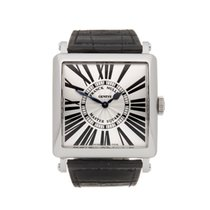 Franck Muller Master Square Steel 36.6mm Silver Roman numerals United Kingdom, Bishop's Stortford