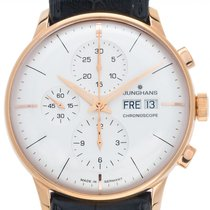 Junghans Rose gold 40.5mm Automatic 027/7323.00 pre-owned