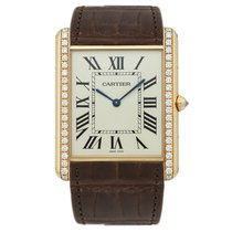 Cartier Tank Louis Cartier WT200005 New Rose gold 34.92mm Manual winding