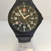 Victorinox Swiss Army Base Camp Staal 40mm