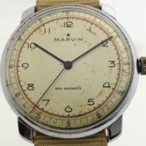 Marvin 35.83mm Corda manual Marvin Vintage Serviced and Warranty usado