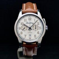 Breitling Transocean Chronograph 1915 Steel 43mm White Arabic numerals