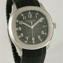 Patek Philippe Aquanaut pre-owned 41mm Black Date Rubber