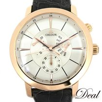 Seiko Rose gold Automatic Silver 41mm pre-owned Credor