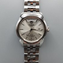 Tudor Glamour Date-Day Steel 39mm Silver United States of America, California, STOCKTON