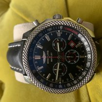 Breitling Bentley Barnato Steel 49mm Black No numerals