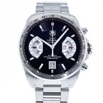 TAG Heuer Grand Carrera Steel 43mm Black United States of America, Georgia, Atlanta